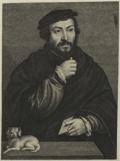 Sir Thomas More, by Lucas Vorsterman - NPG D24946