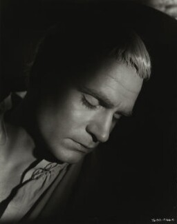 Laurence Kerr Olivier, Baron Olivier, by Unknown photographer - NPG x45139