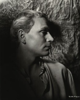 Laurence Kerr Olivier, Baron Olivier, by Unknown photographer - NPG x45141