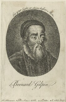 Bernard Gilpin, possibly by William Gilpin - NPG D24953