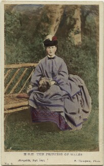 Queen Alexandra, by Stephen Thompson, published by  Victor Delarue - NPG Ax46767