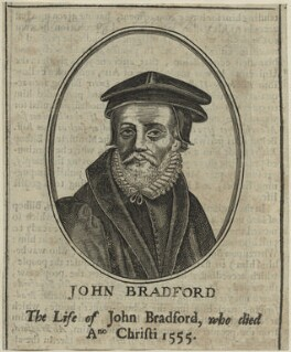 John Bradford, by Unknown artist - NPG D24960