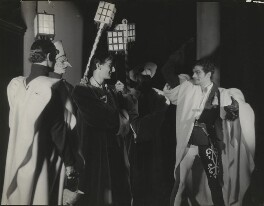 John Gielgud as Romeo and Laurence Olivier as Mercutio in 'Romeo and Juliet', by Howard Coster - NPG x16376