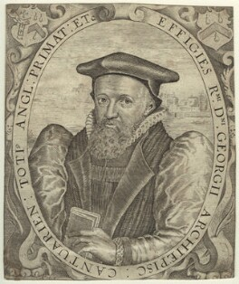 George Abbot, by Simon de Passe, 1616 - NPG D31771 - © National Portrait Gallery, London