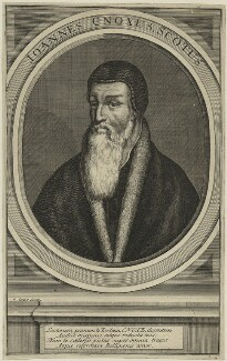 John Knox, by R. Cooper, after  Vaensoun - NPG D24966