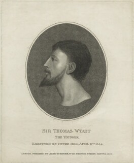 Sir Thomas Wyatt ('the Younger'), after Unknown artist - NPG D24975