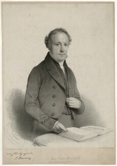 Thomas Binney (Benny), by Charles Baugniet, 1846 - NPG D31787 - © National Portrait Gallery, London