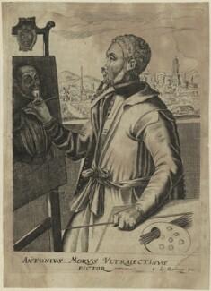 Anthonis Mor (Antonio Moro), by Edme de Boulonois - NPG D24979