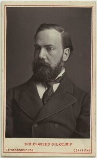 Sir Charles Wentworth Dilke, 2nd Bt, by London Stereoscopic & Photographic Company, July 1882 - NPG x76203 - © National Portrait Gallery, London