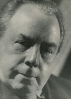 J.B. Priestley, by Howard Coster - NPG x2079