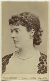 Georgina Elizabeth Ward (née Moncreiffe), Countess of Dudley, by W. & D. Downey - NPG x22275