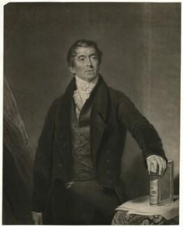 George Birkbeck, by Henry Edward Dawe, after  Samuel Lane - NPG D31792