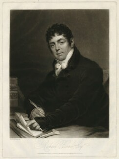 Sir Richard Birnie, by William Say, published by and after  James Green - NPG D31793