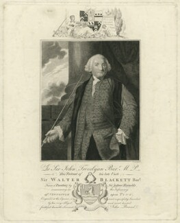 Sir Walter Calverley Blackett, 2nd Bt, by James Fittler, after  Sir Joshua Reynolds - NPG D31798