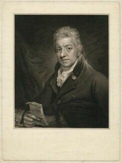 John Blackburne, by Peltro William Tomkins, after  Sir William Beechey - NPG D31799