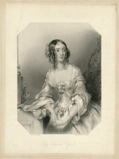 Lady Amelia Blackwood (née Capel), by William Henry Egleton, after  John Hayter - NPG D31805