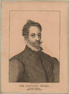 Anthonis Mor (Antonio Moro), by H. Vaughan - NPG D24984