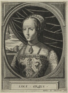Lady Jane Grey, by Edme de Boulonois - NPG D24988