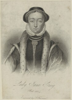 Lady Jane Grey, by Samuel Freeman - NPG D24990