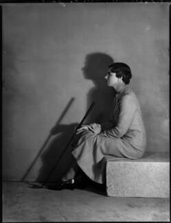 Kathleen Garrham, by Bassano Ltd - NPG x151836