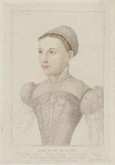 Mary, Queen of Scots, by Thomas Ryder, published by  Colnaghi & Co - NPG D31816
