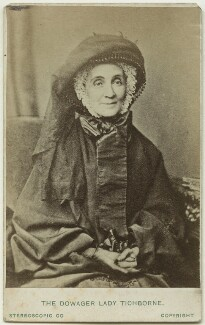Harriette Felicité (née Seymour), Lady Doughty-Tichborne, by London Stereoscopic & Photographic Company, circa 1873 (1860s) - NPG x45953 - © National Portrait Gallery, London