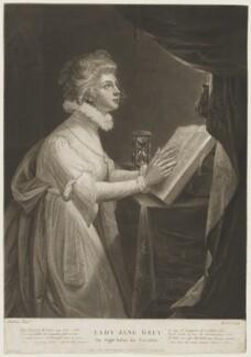 Lady Jane Dudley (née Grey), by James Ward, after  Robert Fulton, 1793 - NPG D24993 - © National Portrait Gallery, London
