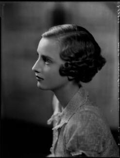 Elizabeth Diana Percy (née Montagu-Douglas-Scott), Duchess of Northumberland, by Bassano Ltd - NPG x151838