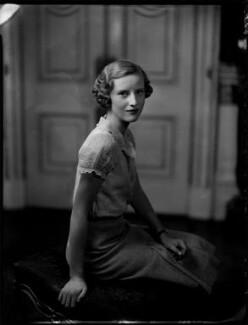 Elizabeth Diana Percy (née Montagu-Douglas-Scott), Duchess of Northumberland, by Bassano Ltd - NPG x151841