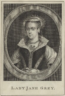 Called Lady Jane Grey, possibly by George Vertue - NPG D24999