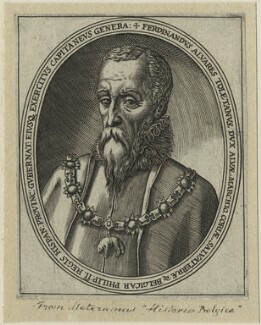 Fernando Alvarez de Toledo, 3rd Duke of Alba, after Unknown artist - NPG D25000