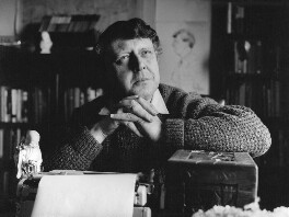 Anthony Burgess, by Mark Gerson - NPG x88205
