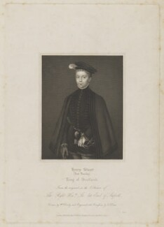 Henry Stuart, Lord Darnley, by Thomas Anthony Dean, published by  Harding & Lepard, after  Hans Eworth - NPG D31828