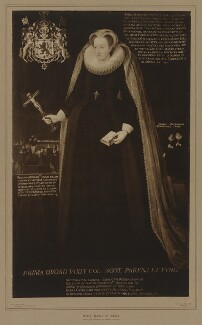 Mary, Queen of Scots, by Alexander Adam Inglis, after  Unknown artist - NPG D31827