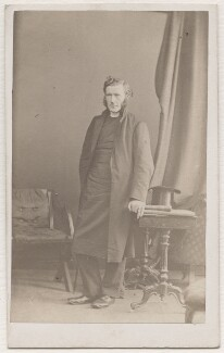 William George Tozer, by Hills & Saunders, 1863 - NPG Ax7477 - © National Portrait Gallery, London