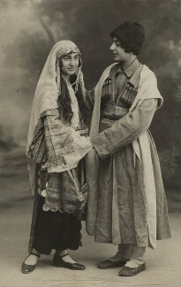 Ida Kar and a friend, by Unknown photographer - NPG x129571