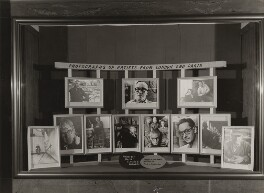 Display Window for Ida Kar's exhibition, 'Forty Artists from London and Paris', Gallery One, by Ida Kar, 1954 - NPG  - © National Portrait Gallery, London