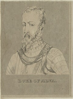 Fernando Alvarez de Toledo, 3rd Duke of Alba, after Unknown artist - NPG D25001