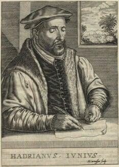 Hadrianus Junius (Adriaen de Jonghe), by Nicolas de Larmessin - NPG D25009