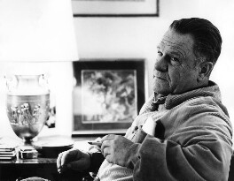 Lawrence George Durrell, by Mark Gerson - NPG x88209