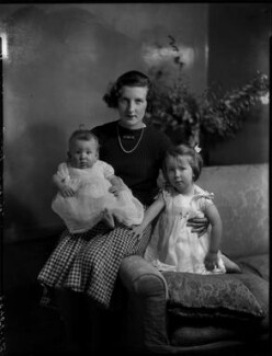 Lady Elizabeth Grenfell with her children, by Bassano Ltd - NPG x151847