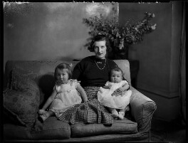 Lady Elizabeth Grenfell with her children, by Bassano Ltd - NPG x151848