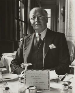Sir Hugh Walter Kingwell Wontner, by Henry Grant - NPG x22202