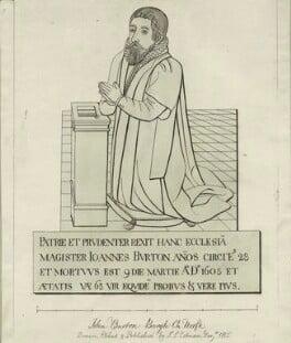 John Burton, by John Sell Cotman - NPG D25015