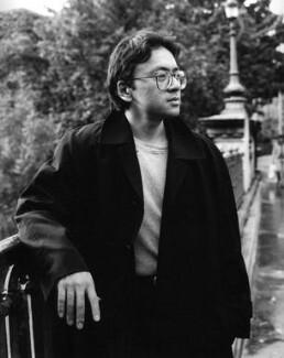 Kazuo Ishiguro, by Mark Gerson, September 1995 - NPG x88214 - © Mark Gerson / National Portrait Gallery, London