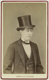 Charles James Mathews, by Barraud & Jerrard - NPG Ax28508
