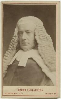 Sir John Walter Huddleston, by London Stereoscopic & Photographic Company - NPG x32350