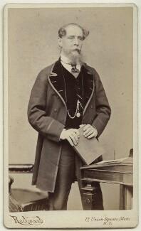 Charles Dickens, by George Gardner Rockwood - NPG x45466