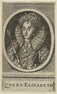 Queen Elizabeth I, by Unknown artist - NPG D25020