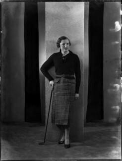 Diana Fishwick, by Bassano Ltd - NPG x151865